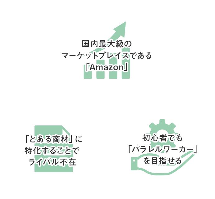Amazon国内物販ビジネス3つの特徴